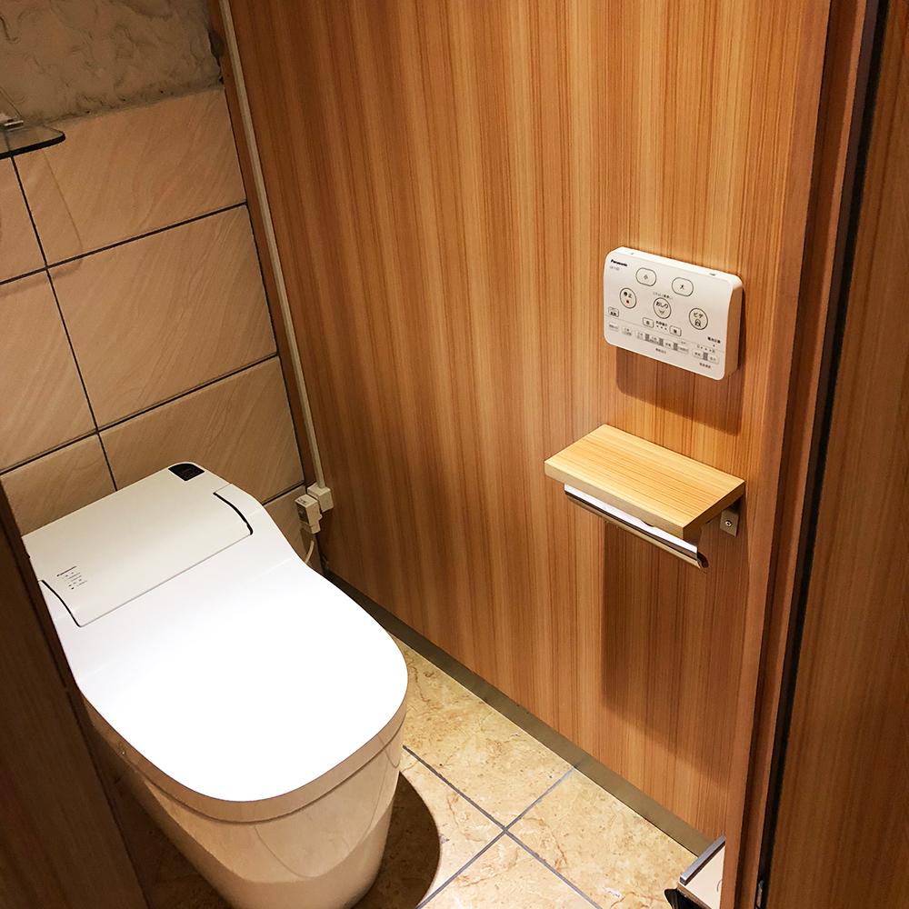 株式会社JAPANCREATE(ジャパンクリエイト ビル5F)レンタルオフィスの5F共用トイレ